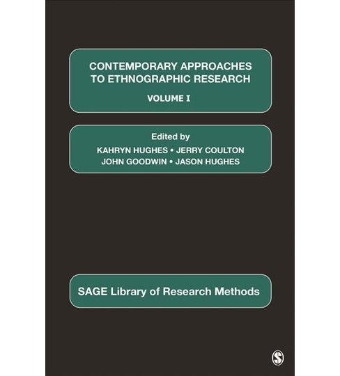 Contemporary Approaches to Ethnographic Research -  (Hardcover) - image 1 of 1