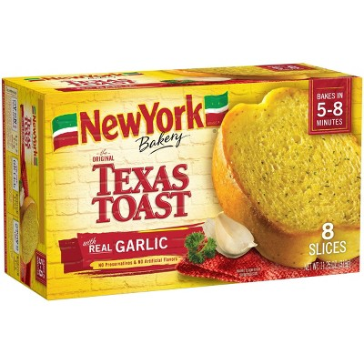 New York Bakery Frozen Garlic Texas Toast - 11.25oz