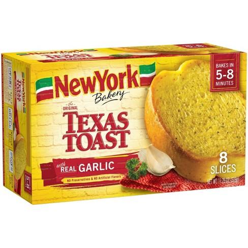New York Bakery Frozen Garlic Texas Toast - 11.25oz - image 1 of 3