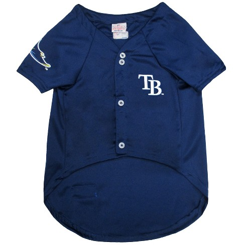 849978843fa Tampa Bay Rays Pets First Pet Baseball Jersey - Navy XL   Target