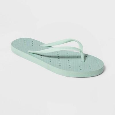 M Shower Flip Flop Sandals Mint - Room Essentials™