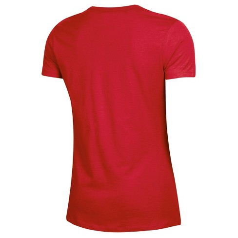 san francisco d289c 5edbe Washington Capitals Women's Overtime V-Neck T-Shirt - L