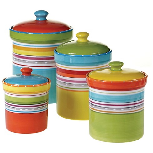 Certified International Mariachi 4-pc. Canister Set - image 1 of 1
