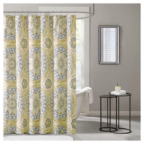 Nepal Mosaic Shower Curtain Target