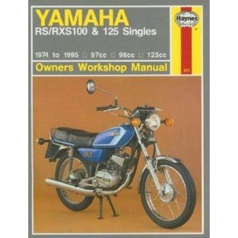 Haynes Yamaha Rs/Rxs100 & 125 Singles - (Owners Workshop Manual) by  Pete Shoemark (Paperback) - image 1 of 1