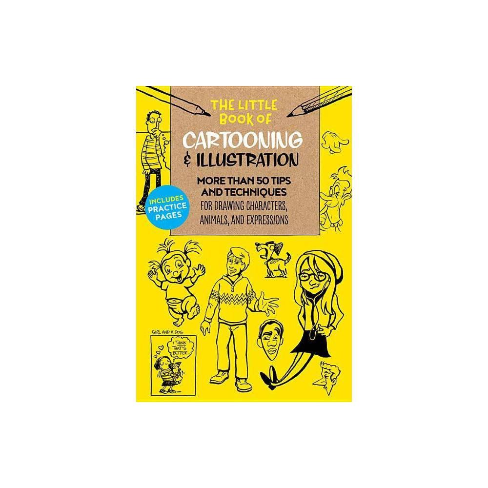 The Little Book Of Cartooning Illustration Little Book Of Paperback