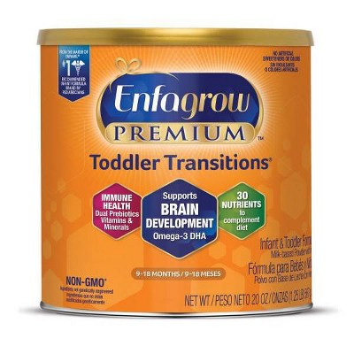 Enfagrow Toddler Transitions Powder Formula - 20oz