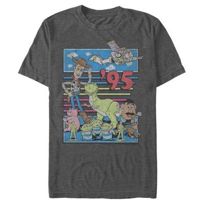 Men's Toy Story Retro Best Friend Toys T-Shirt