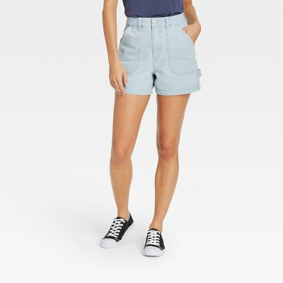 Women's High-Rise Carpenter Shorts - Universal Thread™