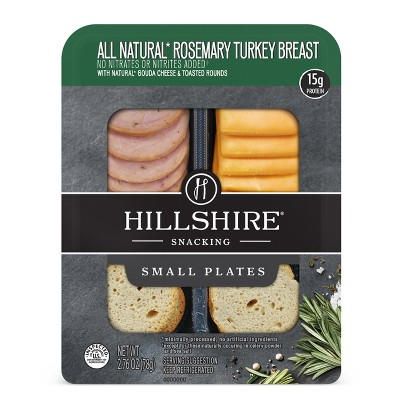 Hillshire Snacking Rosemary Turkey & Gouda Small Plates - 2.76oz