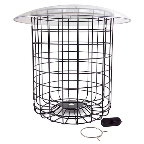 "Droll Yankees Cage & Cover Bird Feeders Guards - Silver - 2.5"" - image 1 of 2"