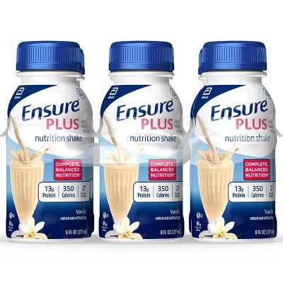 Protein & Meal Replacement: Ensure Plus Nutrition Shake