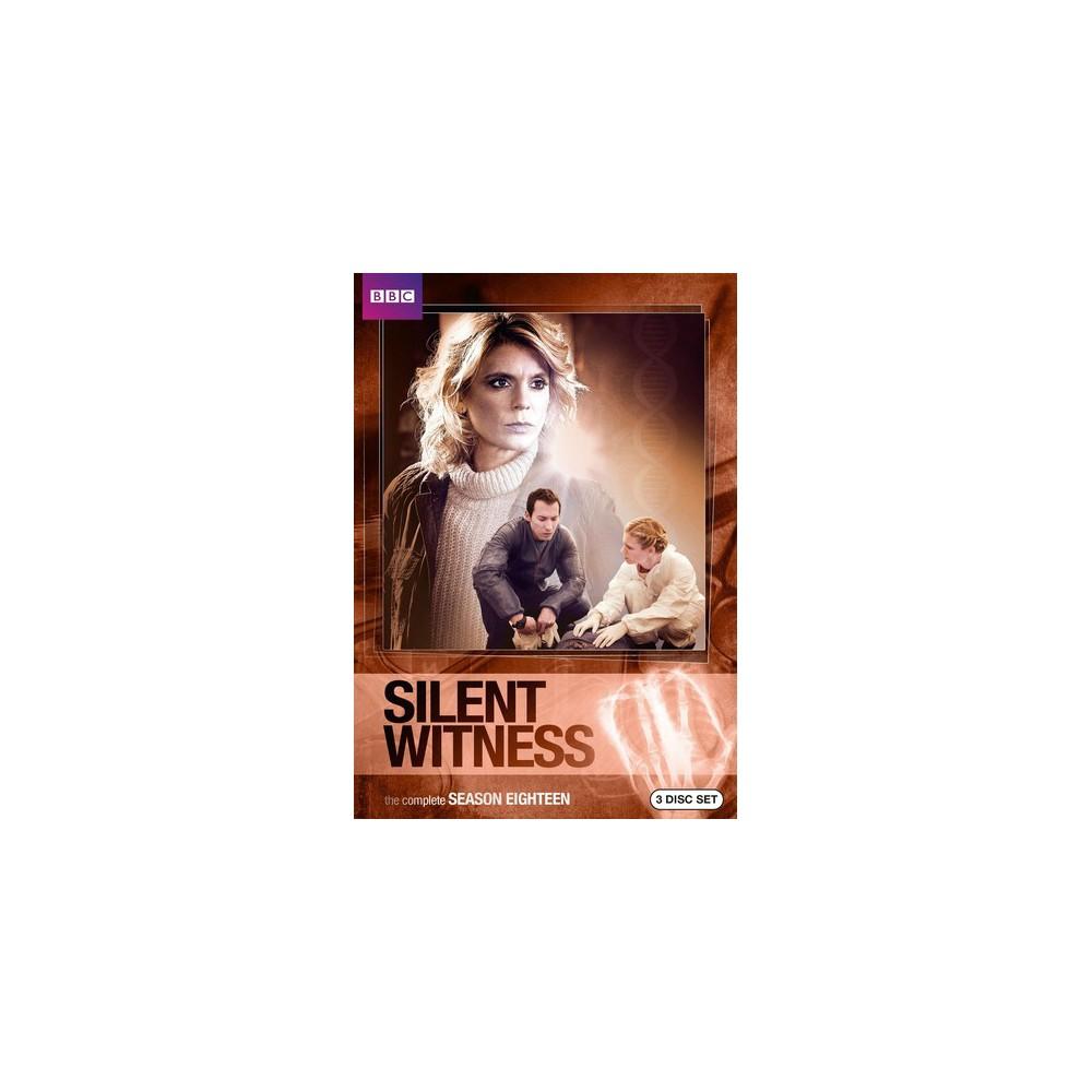 Silent Witness:Season Eighteen (Dvd)