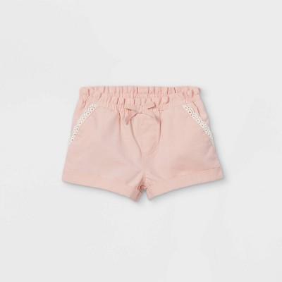 OshKosh B'gosh Toddler Girls' Woven Pull-On Shorts - Pink 3T
