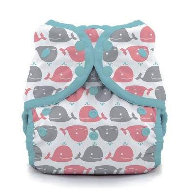 Thirsties Swim Diaper- Whales Size One