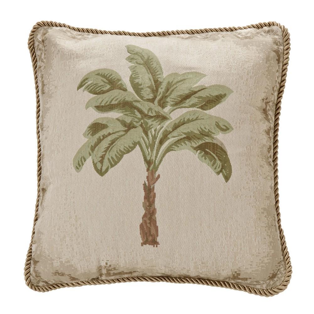 Image of Palm Grove Lumbar Pillow - Karin Maki, Beige