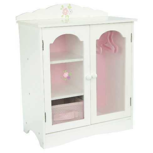 "Olivia's Little World - Little Princess 18"" Doll Furniture - Fancy Closet with 3 Hangers - image 1 of 5"