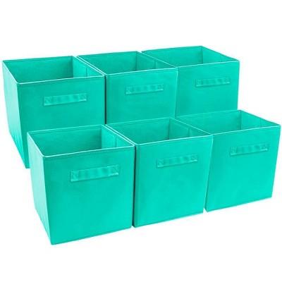 Sorbus 6pk Foldable Storage Cube - Teal