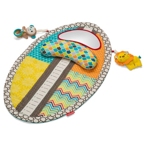 Infantino Go GaGa Tummy Time Mat - Green - image 1 of 5