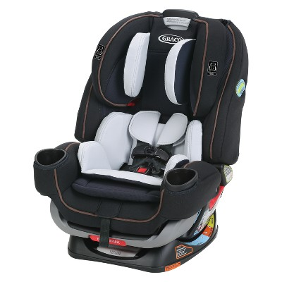 Graco 4Ever Extend2Fit 4-in-1 Convertible Car Seat - Hyde