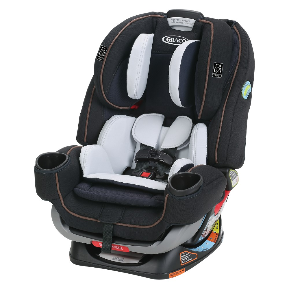 Image of Graco 4Ever Extend2Fit 4-in-1 Convertible Car Seat - Hyde, Black