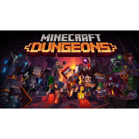 Minecraft Dungeons - Nintendo Switch (Digital) - image 1 of 4