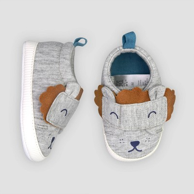 Baby Boys' Lion Sneaker 0-3M - Just One You® made by carter's Gray