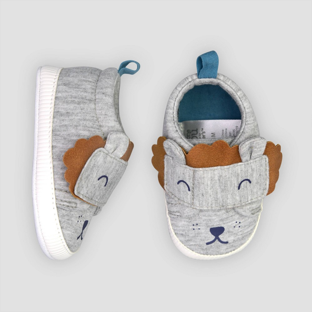 Image of Baby Boys' Lion Sneaker 0-3M - Just One You made by carter's Gray, Boy's, Size: Small