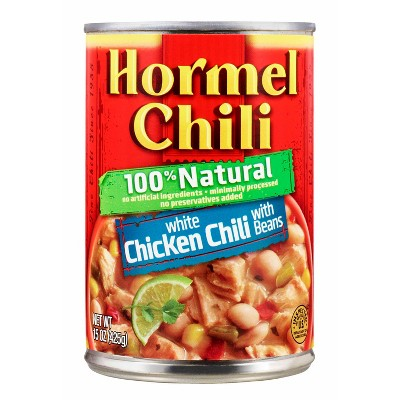 Hormel Chili 100% Natural White Chicken Chili with Beans - 15oz