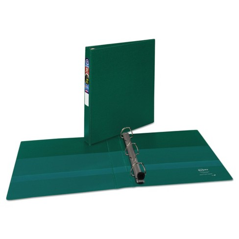 "Avery® Heavy-Duty Binder with One Touch EZD Rings, 11 x 8 1/2, 1"" Capacity, Green - image 1 of 5"