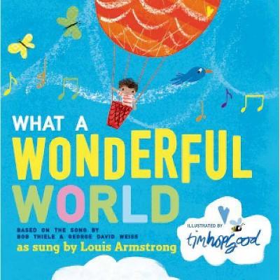 What a Wonderful World by Bob Thiele (Board Book)