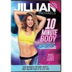 Jillian Michaels: 10 Minute Body Transformation 2nd Edition (DVD)