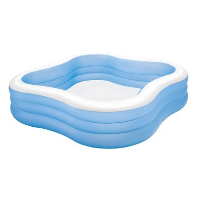 Intex 57495EP 7.5ft x 22in Swim Center Inflatable Family Swimming Pool