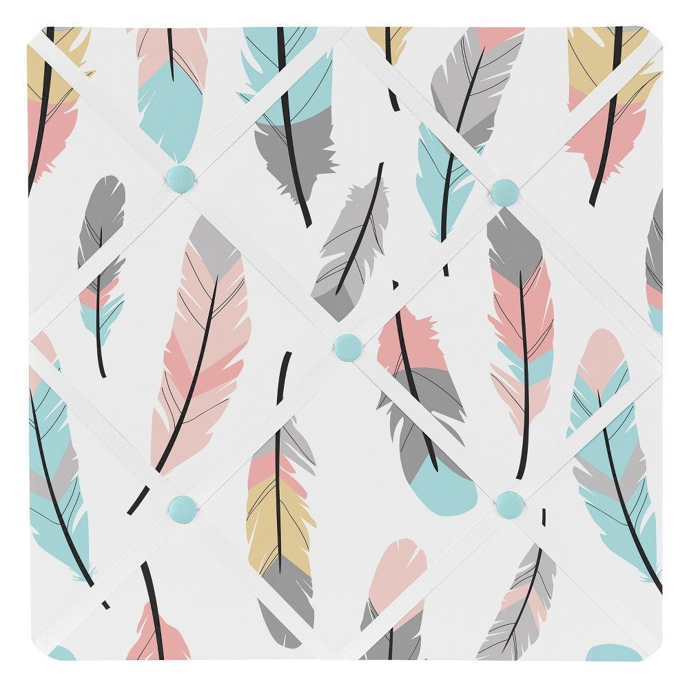 Feather Photo Memo Board (13x13)- Sweet Jojo Designs