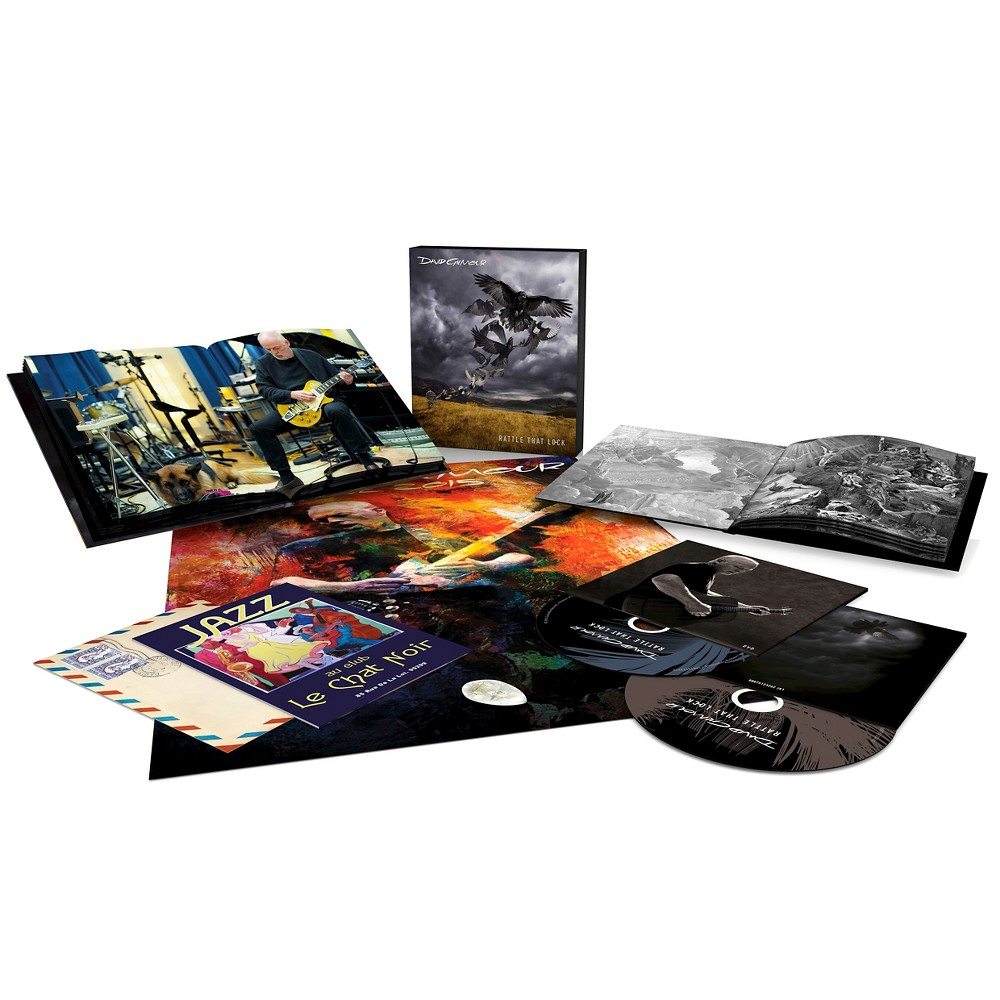 David Gilmour - Rattle That Lock (CD/ Blu-ray Deluxe Edition)