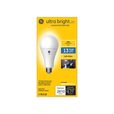 General Electric 150W A23 Ultra Bright LED Aline Light White