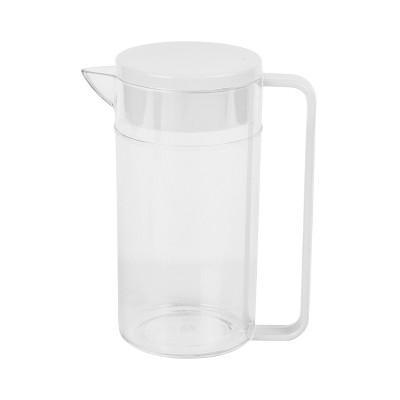 Plastic Beverage Pitcher 2L - White