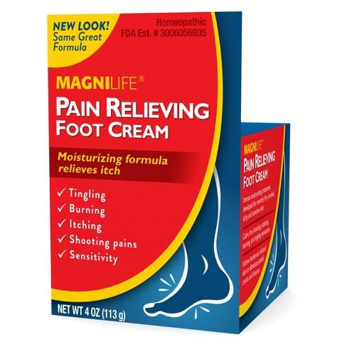 MagniLife Pain Relieving Foot Cream - 4oz - image 1 of 1