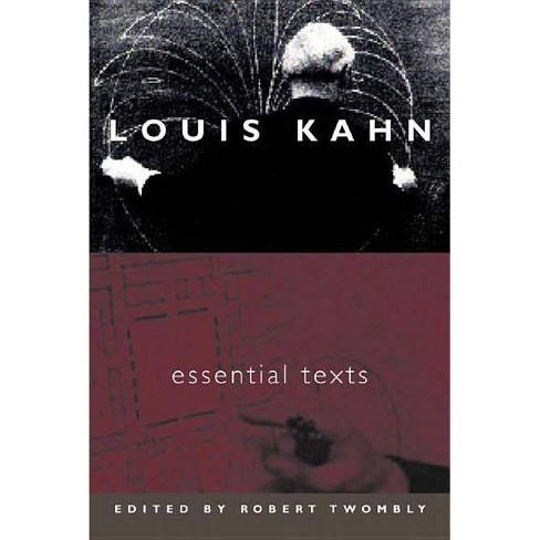 Louis Kahn - by  Louis I Kahn (Paperback) - image 1 of 1