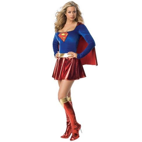 Women's Supergirl Halloween Costume - image 1 of 1