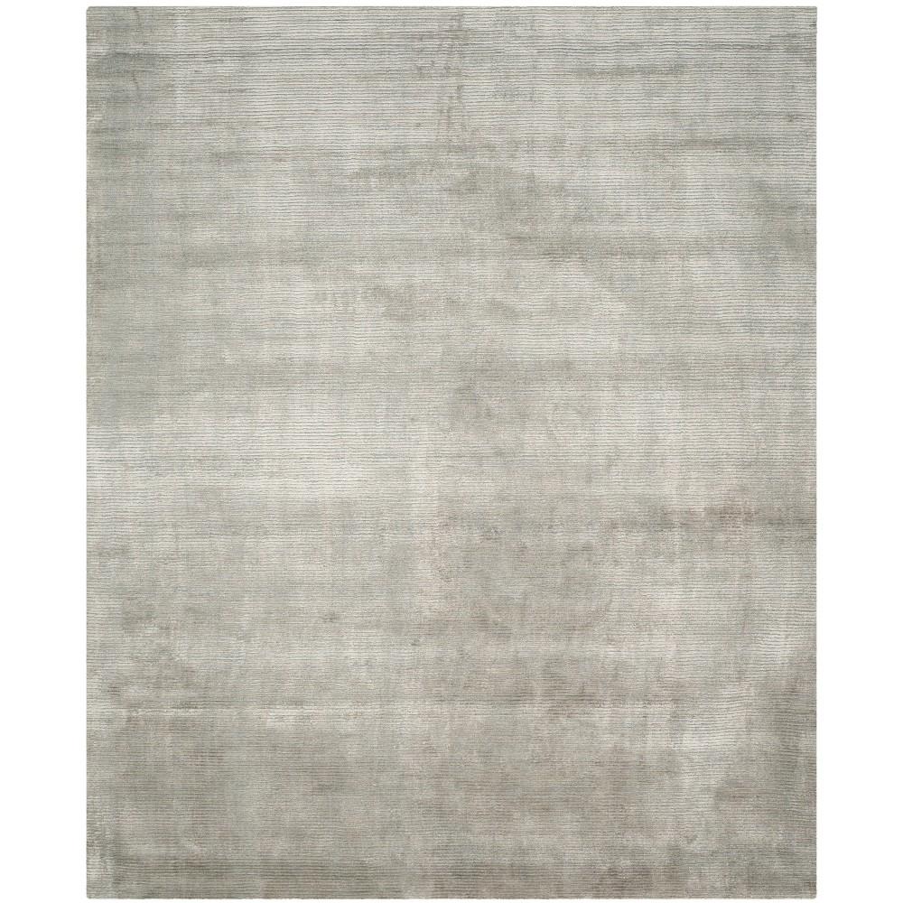 10'X14' Loomed Solid Area Rug Gray - Safavieh