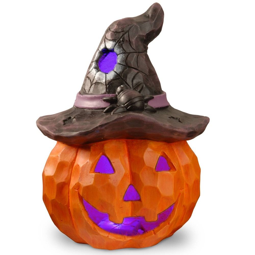 """Image of """"14"""""""" LED Jack-O-Lantern Novelty Halloween Lights"""""""