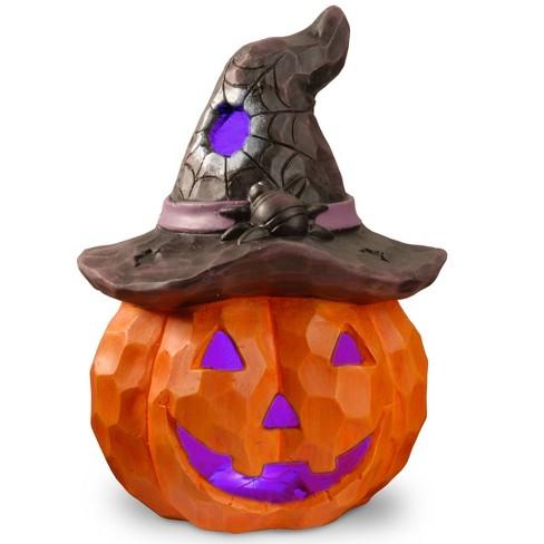 """14"""" LED Jack-O-Lantern Novelty Halloween Lights - image 1 of 1"""
