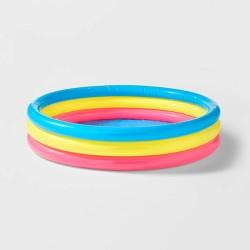 3 Ring Kiddie Pool Blue - Sun Squad™