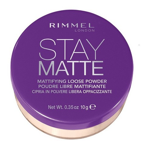 Rimmel Stay Matte Loose Powder Transparent - 0.35oz - image 1 of 3