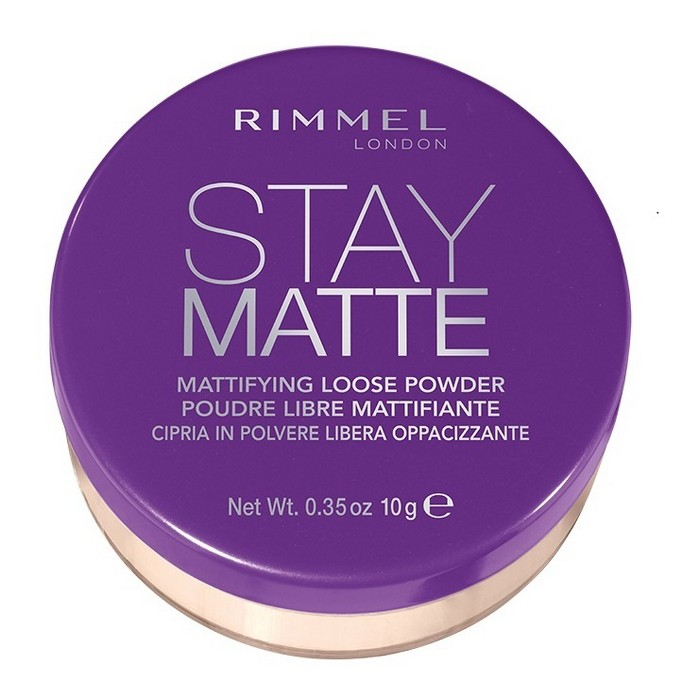 Rimmel Stay Matte Loose Powder Transparent - 0.35oz - image 1 of 2