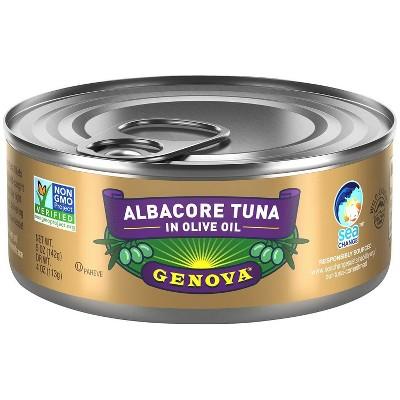 Genova Solid White Tuna in Olive Oil - 5oz