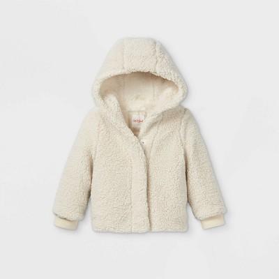 Toddler Girls' Sherpa Jacket - Cat & Jack™