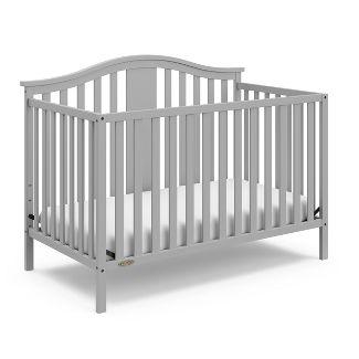 Graco Solano 4-in-1 Convertible Crib - Pebble Gray