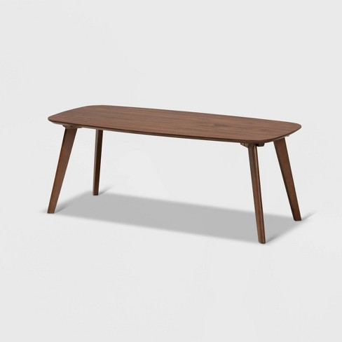 Dahlia Coffee Table Walnut - Baxton Studio - image 1 of 4